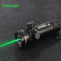Hunting Tactical Green Laser Red Dot Sight Scope Flashlight 20mm Picatinny Rail Mount Guns Rifles