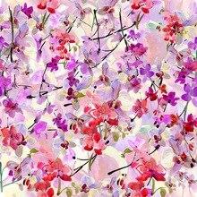 Floral Fotografía Telón de Fondo vintage flores acuarela photobooth D-7779 telones de fondo para estudio fotográfico niño recién nacido