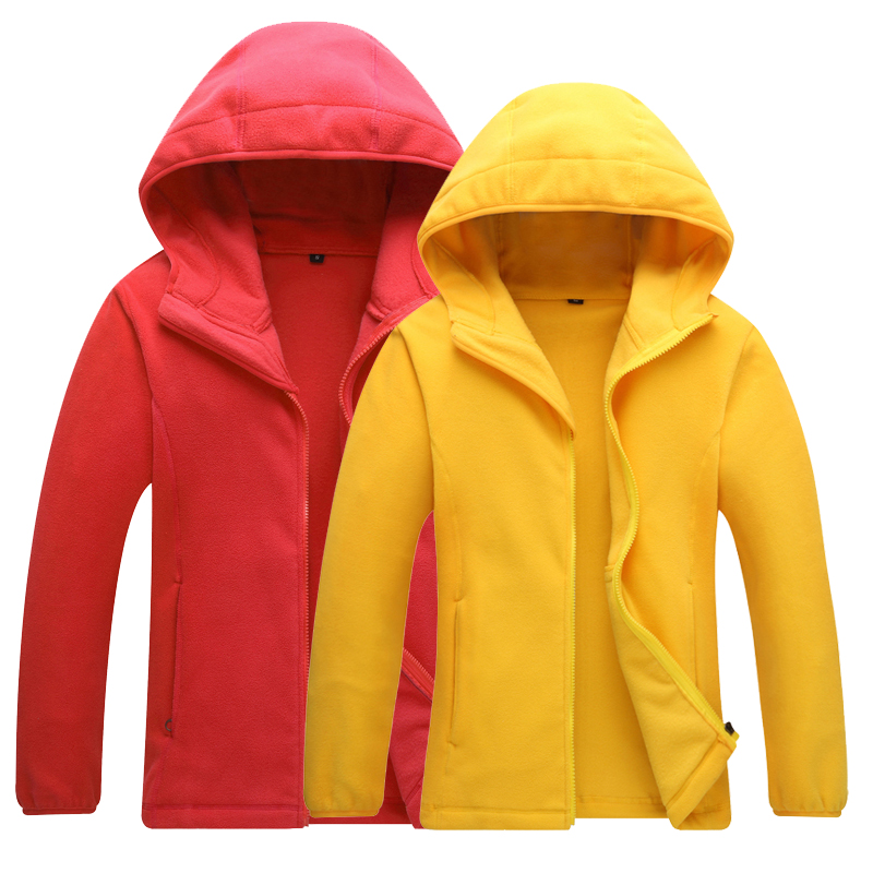 SCRIOSADH Winter Outdoor Men Women Fleece Thermal Coat Quick Dry Windproof Keep Warm Jacket Outdoor Hooded Fishing Hiking Jacket