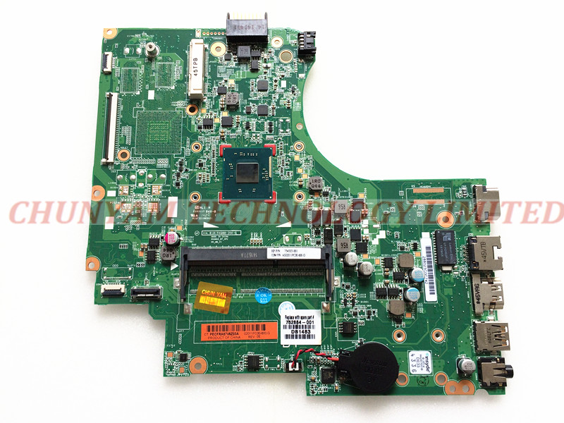 ФОТО 752884-001 FOR HP 240 G2 246 G2 Laptop Motherboard P/N:01019Q00-35K-G N2820 Mainboard 90Days Warranty