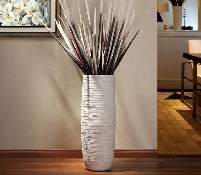 Jia-gui luo  vase for wedding decoration Nordic hand-painted floor  home living room 1