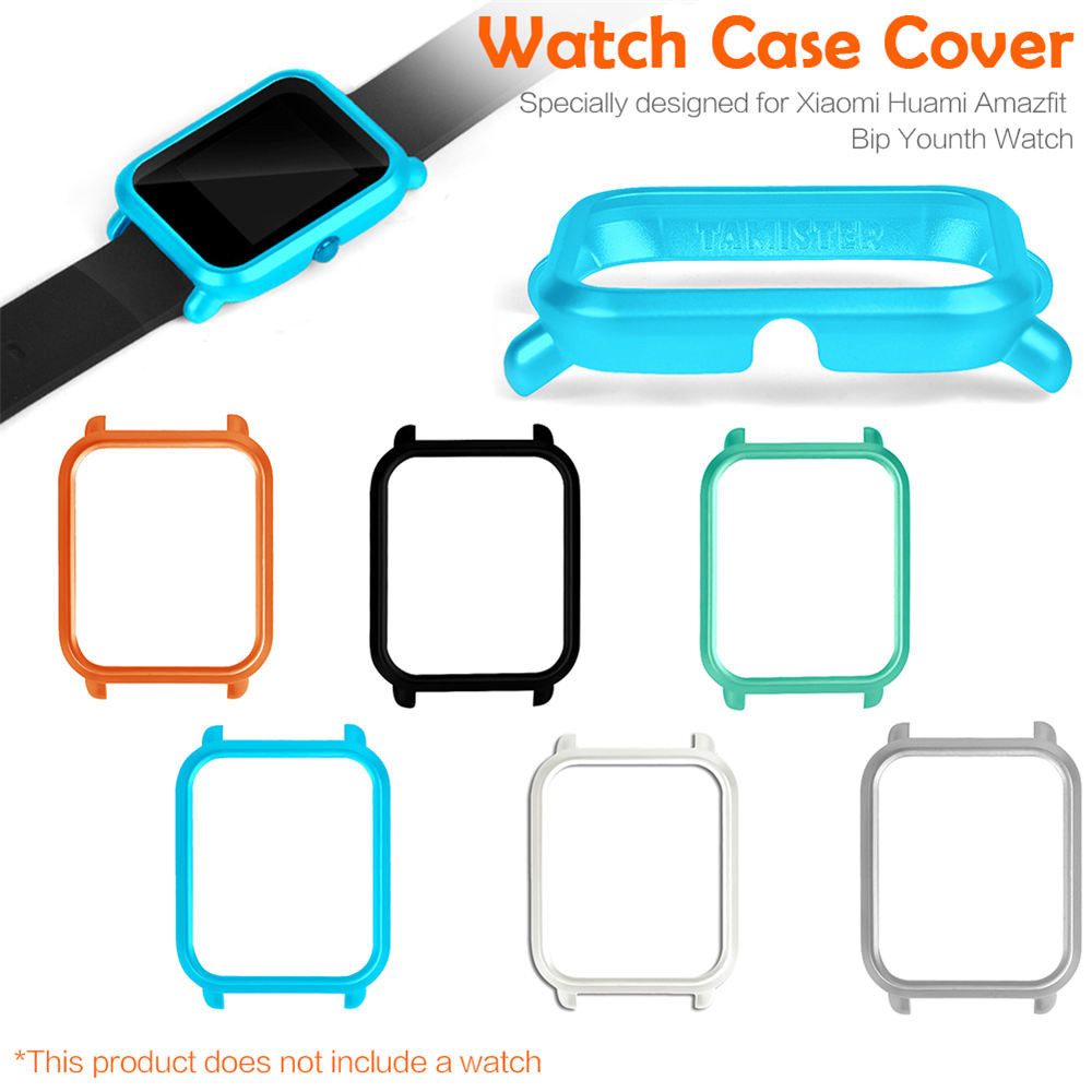 Slim Protect Case Cover For Xiaomi Huami Amazfit Bip Lite Youth Version Colorful  Protective Shell For Xiaomi Smart Watch Case