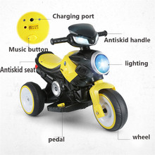 2019 New Children Electric Motorcycle Ride On Cars Toy Car Can Sit On Baby Battery Motorcycle Bike For Kids Gift цена и фото