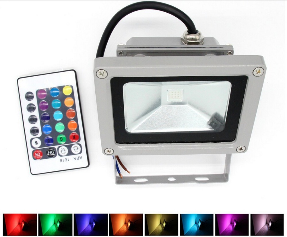 Rgb led flood light 10w 20w 30w 50w foco led exterior spotlight rgb led flood light 10w 20w 30w 50w foco led exterior spotlight ip65 led outdoor light reflector spot floodlight remote control mozeypictures Gallery