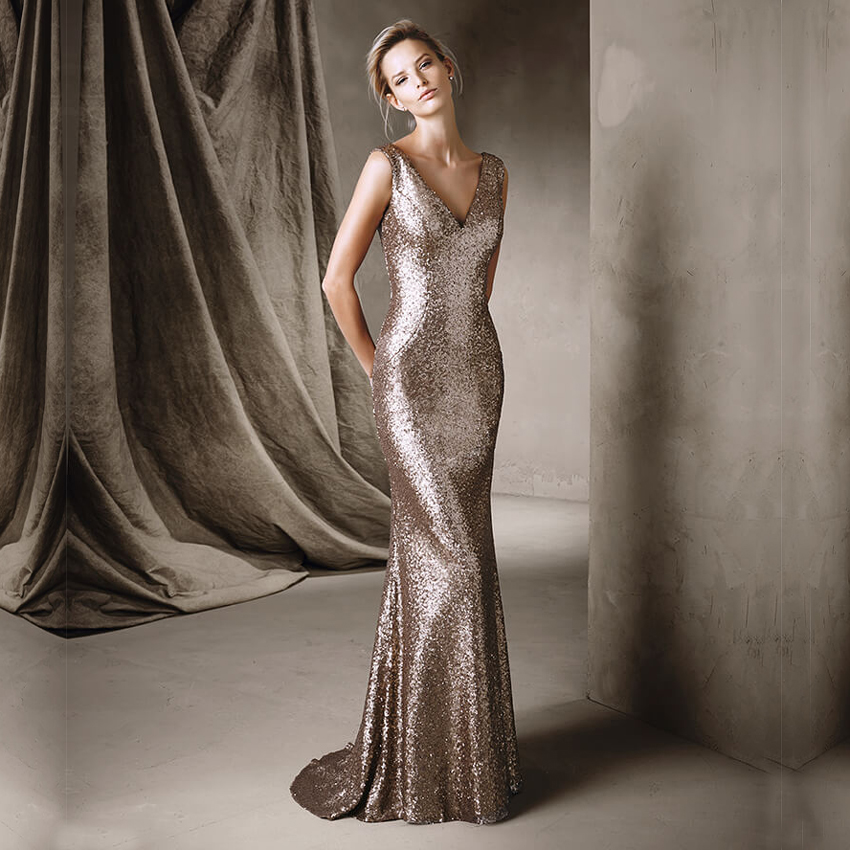 Gold sparkly dress 2017
