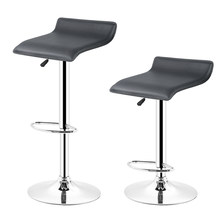 JEOBEST 2PCS Bar Stools height Adjustable Counter Swivel chair bar supplies 3 Colors Stock In FR DE HWC(China)