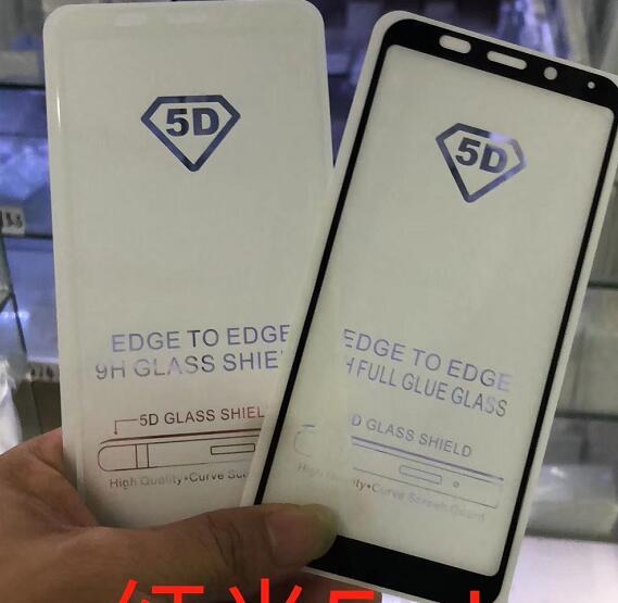 100pcs lot 5D Full Cover Tempered Glass Screen Protector for Xiaomi Pocophone F1 Redmi Mi6 Mi6A