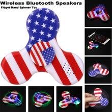 font b 2017 b font font b LED b font Spinner Light Wireless Bluetooth Speakers