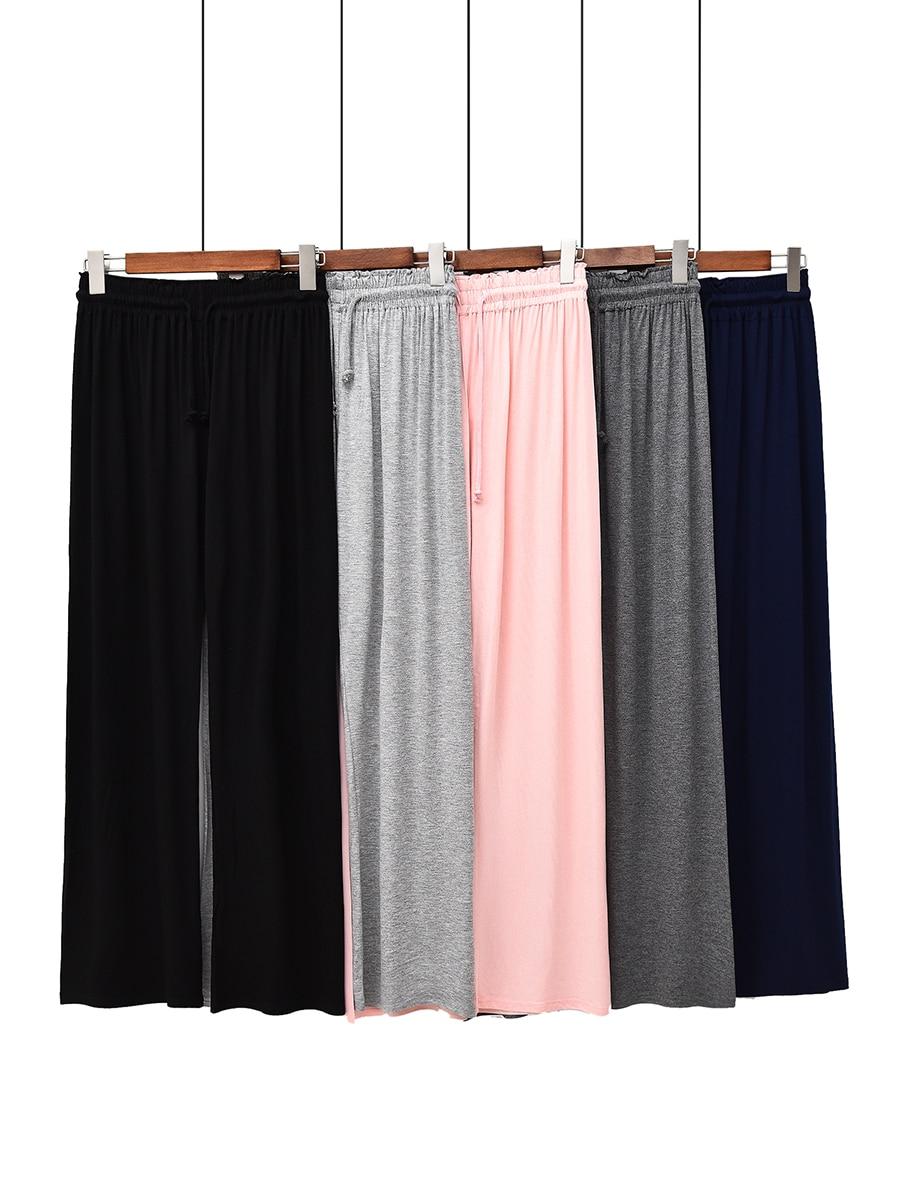 Material De Modal Peso 40 60kg Pantalones Pijamas De Algodon A La Cadera 80 120cm Pantalones De Salon Para Mujer Pantalones Para Dormir 477 Pantalones Para Dormir Aliexpress