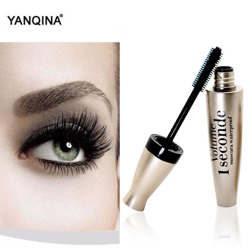 YANQINA 1Pcs Cosmetic  Mascara Extension Length Long Curling Eyelash Makeup Black Mascara Makeup Waterproof Rimel Maquiagem