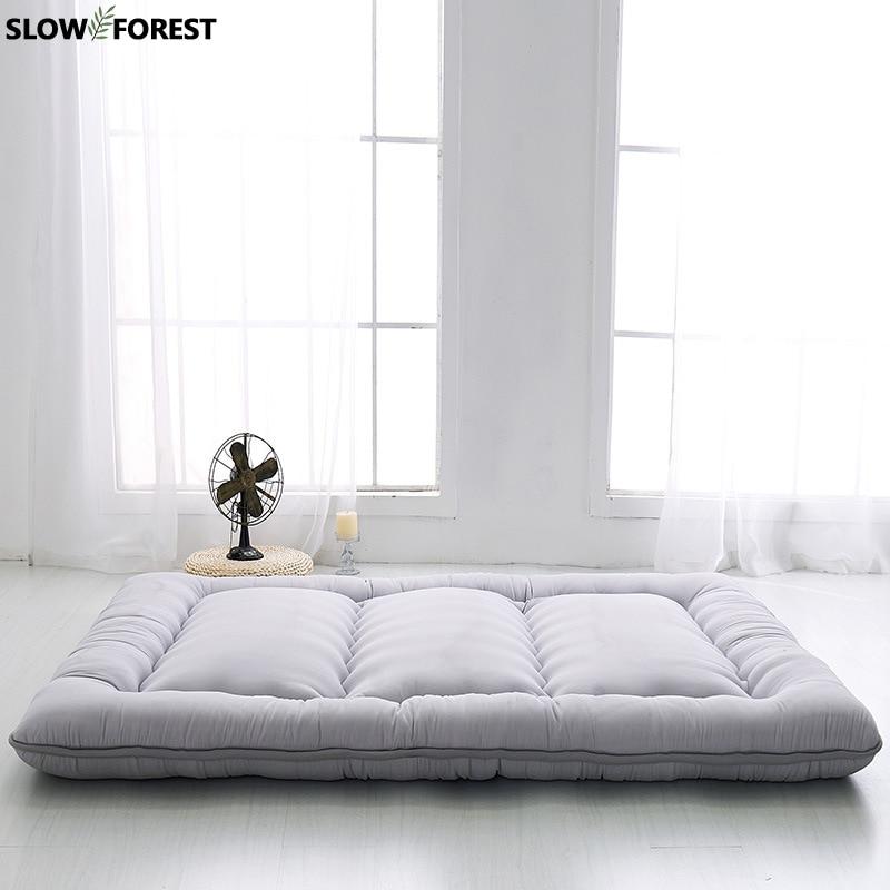 Медленный лес королева матрас утолщенный коврик ковер Эконом 1,8 м сомнения складные коврики ленивый Cushile пол спальный Maon лист