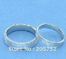 Bague en argent pour hommes, bagues de fiançailles, bagues de mariage, bijoux de Couple, 925 Sterling - 4