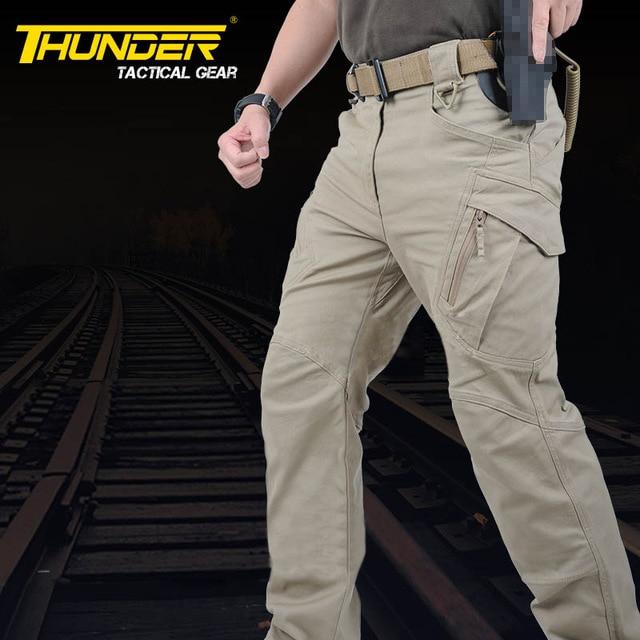 78eadf183cb272 TAD Pantaloni Tattici IX9 Mens Militare di Combattimento Escursioni A Piedi  All'aperto SWAT Hunter