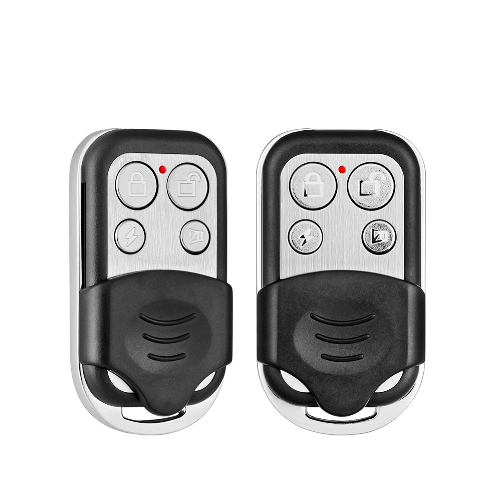 2pcs/Lot RC528 Wireless Metallic Remote Control For  Security Alarm System