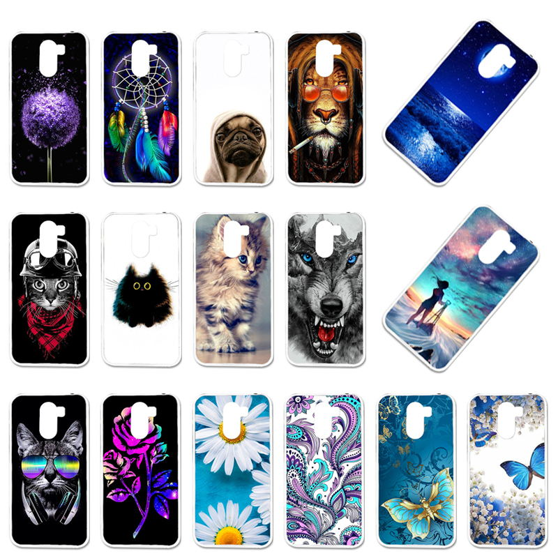 TaryTan Soft TPU Case For Wileyfox Swift 2 Case Silicone Swift2 Swift 2 Plus X50 Protective Shell DIY Painted Phone Back Cover