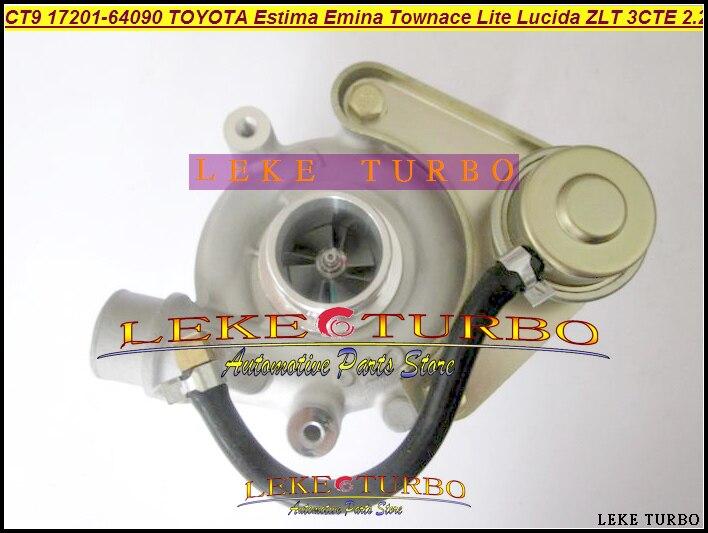 CT9 17201-64090 17201 64090 Turbo Turbocharger For TOYOTA Lite Townace Town ace Estima Emina Lucida ZLT 3CTE 3C-T 3CT 2.2L 90HP