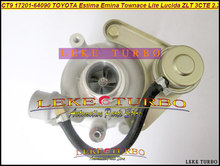 CT9 17201-64090 17201 64090 Turbo Turbocharger Per TOYOTA Lite Townace Town ace Estima Emina Lucida ZLT 3CTE 3C-T 3CT 2.2L 90HP