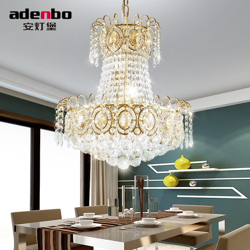 Aliexpress.com : Buy Modern Gold LED Chandelier Lighting Fixture Crystal  Chandeliers Lustre LED Dining Room Lamp For Room Decoration 45cm From  Reliable ...