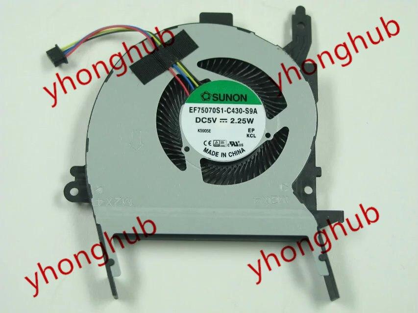 SUNON EF75070S1-C430-S9A DC 5V 2.25W    Bare Fan доска для объявлений dz 5 1 j9c 037 jndx 9 s c