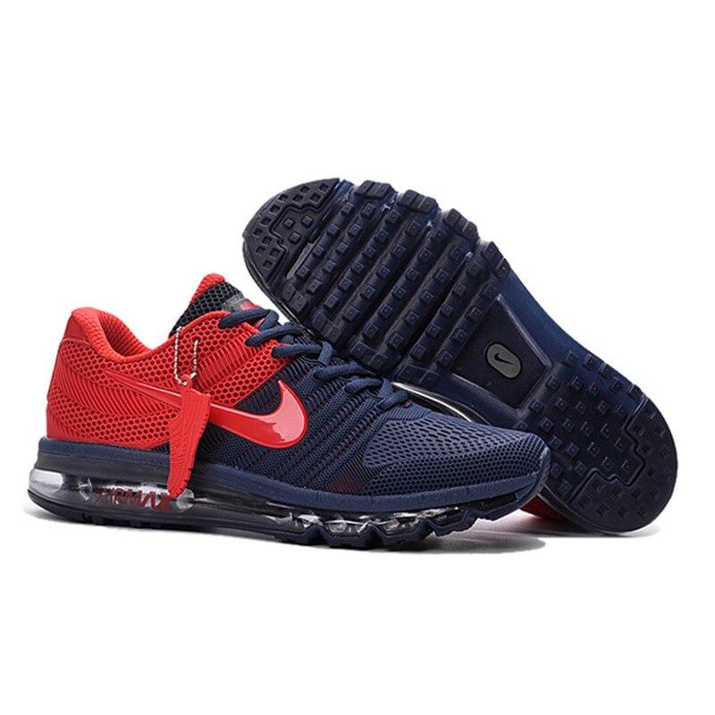 new product 495fb 4dfc4 Hot Sale NIKE Air MAX 2017 Running shoes NIKE full palm nano Disu  technology Sports Men