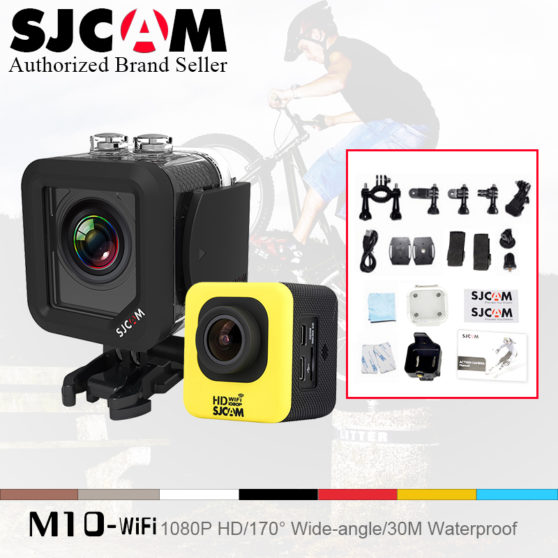 Hot Selling ! SJCAM M10 WIFI Action Camera 100% Original SJ CAM M 10 30M sport 1.5' Screen 1080p FHD go waterproof pro camera 2017 arrival original eken action camera h9 h9r 4k sport camera with remote hd wifi 1080p 30fps go waterproof pro actoin cam