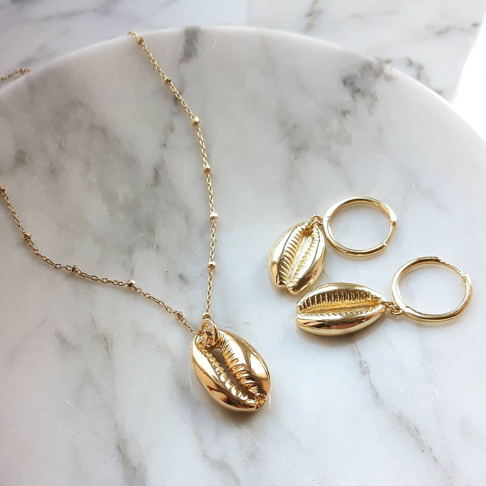 Artilady shell choker necklace gold chain necklace Cowrie boho jewelry for women party gift drop shipping 13
