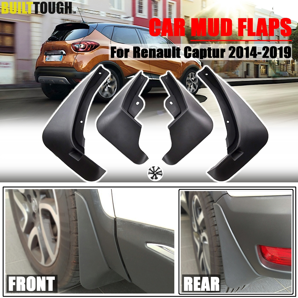 4 Car Mud Flap Splash Guard Fender Mudguard Mudflap For Toyota Corolla 2014-2019