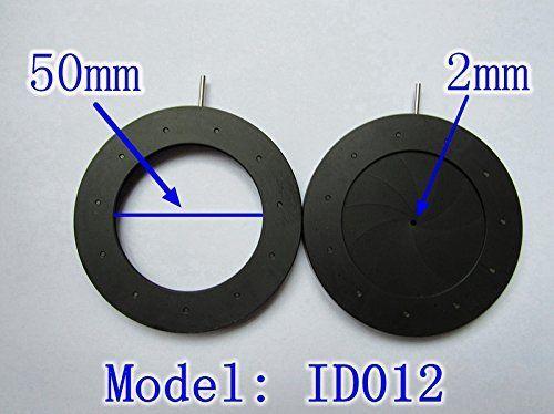 1PC 2-50mm Iris Diaphragm Aperture Monitor Parts Camera Parts 11 Blades 3 52mm amplifying diameter zoom optical iris diaphragm aperture condenser 14pcs blades for digital camera microscope adapter