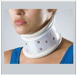 Promotion gift neck protector liftable Neck lift collar brace cervical traction device polymer