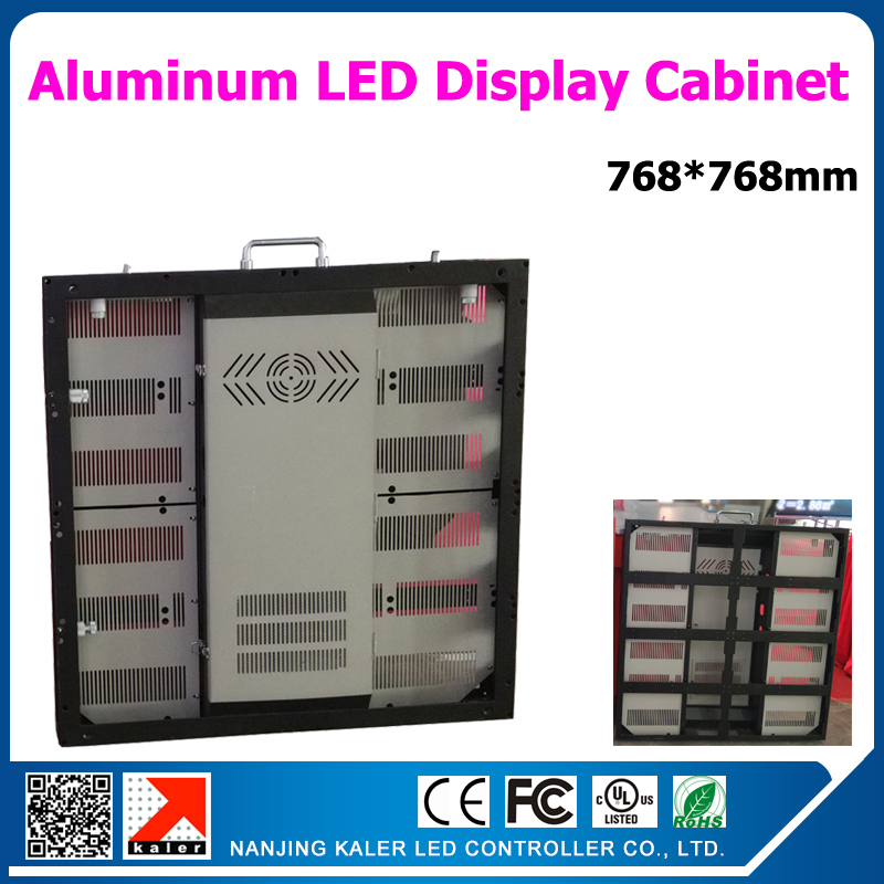 Aluminum led display cabinet 768*768mm for P6 led modules indoor led display cabinet rental indoor led video wallAluminum led display cabinet 768*768mm for P6 led modules indoor led display cabinet rental indoor led video wall