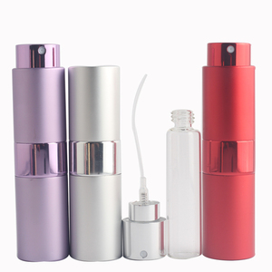 Image 5 - Mini 15ML Portable Spray Bottle Refillable Empty Perfume Atomizer Spray Bottles Travel Accessories Scent Pump Cosmetic Container