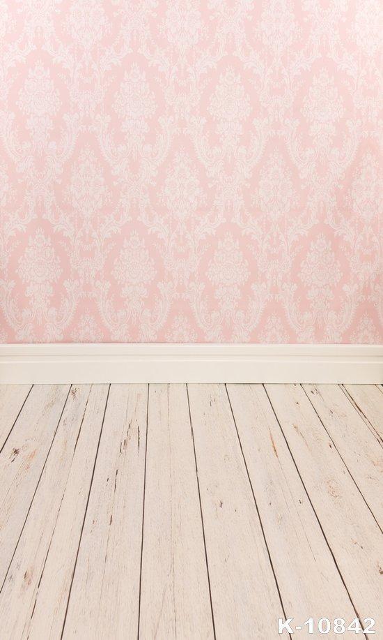 Pink Baby Background Wood 150x150cm Photography Vinyl Backdrops fond studio photo Wedding