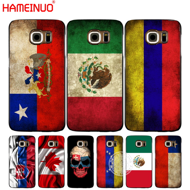 sports shoes f10f9 d673b US $1.99 32% OFF|HAMEINUO slovak mexico canada chile colombia flag cell  phone case cover for Samsung Galaxy S7 edge PLUS S8 S6 S5 S4 S3 MINI-in ...