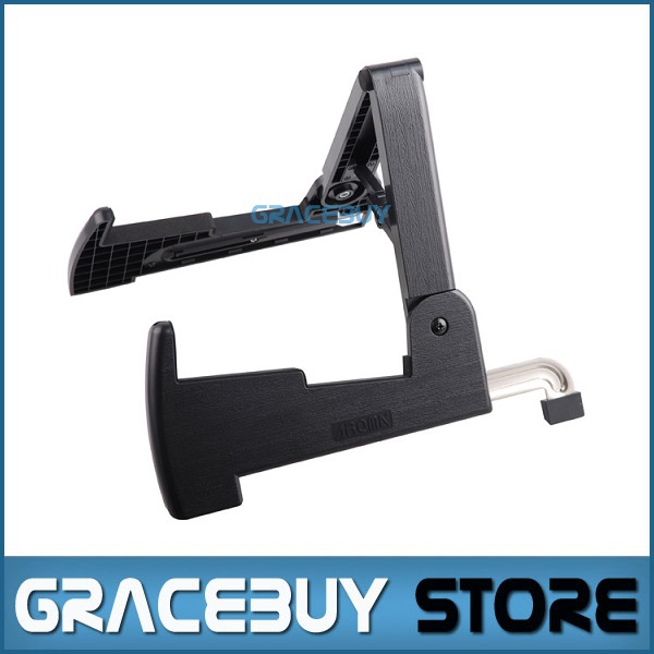Smart Guitar Stand Folding Plastic Rack for All Sizes Guitars Bass Instruments Stand - Aroma AGS-02 suporte sews aroma ags 03 stand a frame holder bracket for all sizes of guitars basses stringed instrument universal