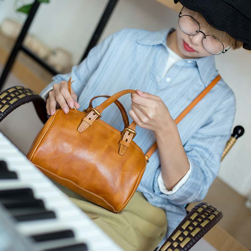 Leather original retro casual handbag first layer cowhide literary simple shoulder bag Messenger bag все цены