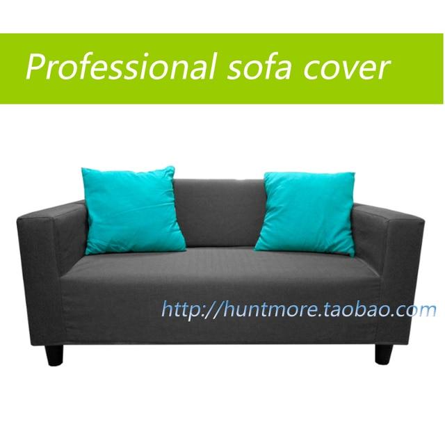 Manufacturer Sofa Covers/slipcover/Sofa Set For IKEA KLOBO Double Set Sofa  Professional Gray
