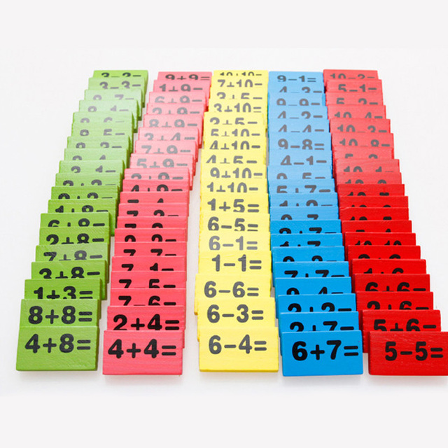 Math Domino Set