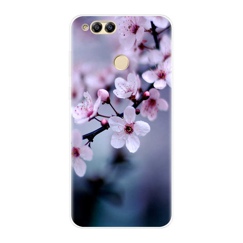 Phone Case For Huawei Honor 10 9 8 7 Lite Soft Silicone TPU Back Cover For Huawei Honor 8X MAX 10 9 8 7 7S 7X 7A 7C Pro Case