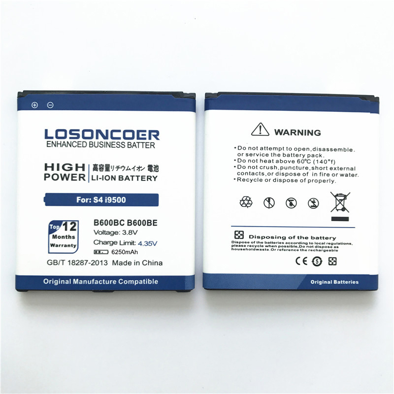 B600BC B600BE For Samsung S4 Battery i9508 i959 Grand 2 i9500 Battery i9505 i9502 SIV S4 Active i9295 Battery (14)