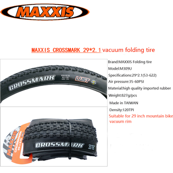 MAXXIS bicycle tire mountain bike 29inch 2.1 folding tire vacuum tyre
