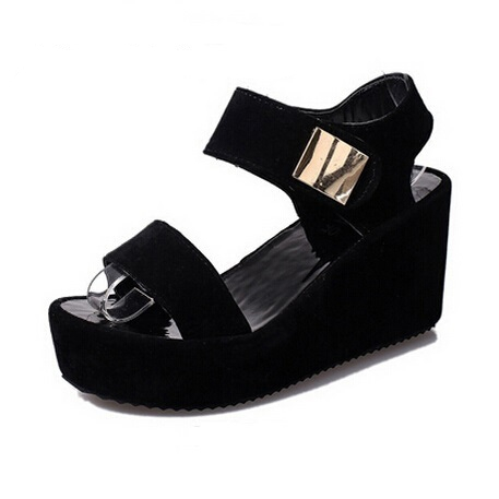 New Women Sandals 2016 Open Toe Summer Style Ladies Shoes Women Platform Wedges Sandals Trifle Gladiator Sandals Women Shoes phyanic 2017 gladiator sandals gold silver shoes woman summer platform wedges glitters creepers casual women shoes phy3323