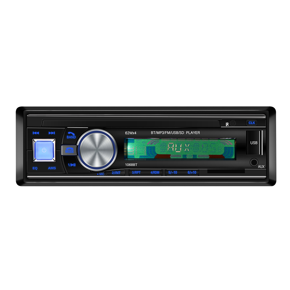DC12V Universal Car Vehicle Stereo Audio Bluetooth MP3 Player Speaker USB//SD//AUX