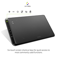 XP Pen Star05 Wireless 2 4G Graphics Drawing Tablet Pad Painting Board With Touch Hot Keys