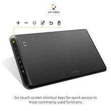 XP-Pluma Star05 Inalámbrica 2.4G Tableta de Dibujo de Gráficos/Pad Pintura Tablero Táctil con Teclas de acceso rápido y La Batería Stylus libre de Pasivo