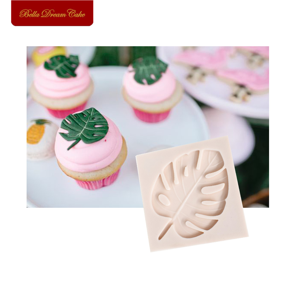 Tropical Leaf Silicone Mold Sugarcraft Molds Cake And Cupcake ...