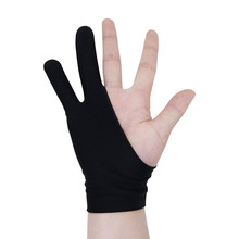 2 PCS / LOT sketch gloves Tablet painting drawing antifouling anti-sweat anti-dirty For ap