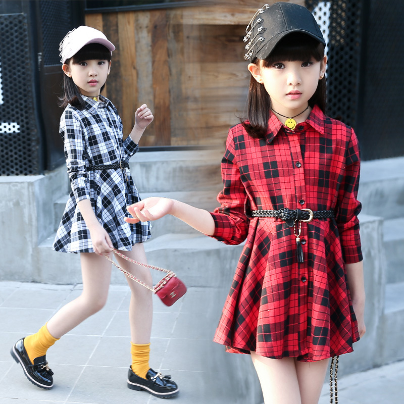 Подробнее о Girls dress Girls clothes Robe fille enfant Kids Summer tutu dresses girl Plaid dress with belt turn-down collar mini dress 2016 summer girls dress girl children s clothes dress for girls dresses kids child baby robe fille enfant c bbf006a