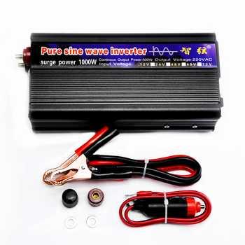 WORKSTAR Peak 1000W Pure Sine Wave Inverter DC 12V/24V to AC220V 50HZ OFF Grid Inverter Solar System Inverter Warranty 2 Years - DISCOUNT ITEM  13% OFF All Category