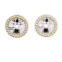 10 шт./лот светодиодный SMD чип светодиодный Лампа 15 Вт 12 Вт 9 Вт 7 Вт 5 Вт 3 Вт AC220V Вход умная ИС(интеграционная схема светодиодный Bean для лампы светильник Холодный белый/теплый белый/белый