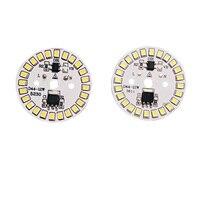 10 Pçs/lote LED SMD Chip Lâmpada LED Lâmpada 15W 12W 9W 7W 5W 3W AC220V Entrada IC Inteligente Feijão LED Para Light Bulb Branco Frio Branco Quente|Chips de LED|Luzes e Iluminação -